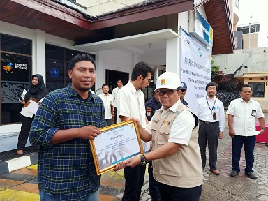 Maxpower Achievements in 2020 National K3 Month (by PLN Tarakan)