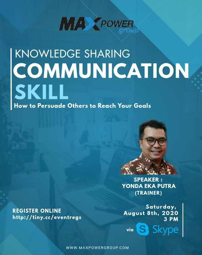 Knowledge Sharing : Basic Communication Skill