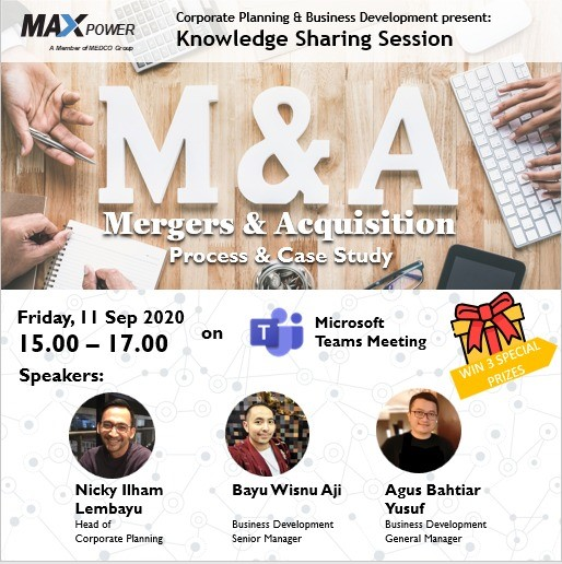 Knowledge Sharing : Merger & Acquisition