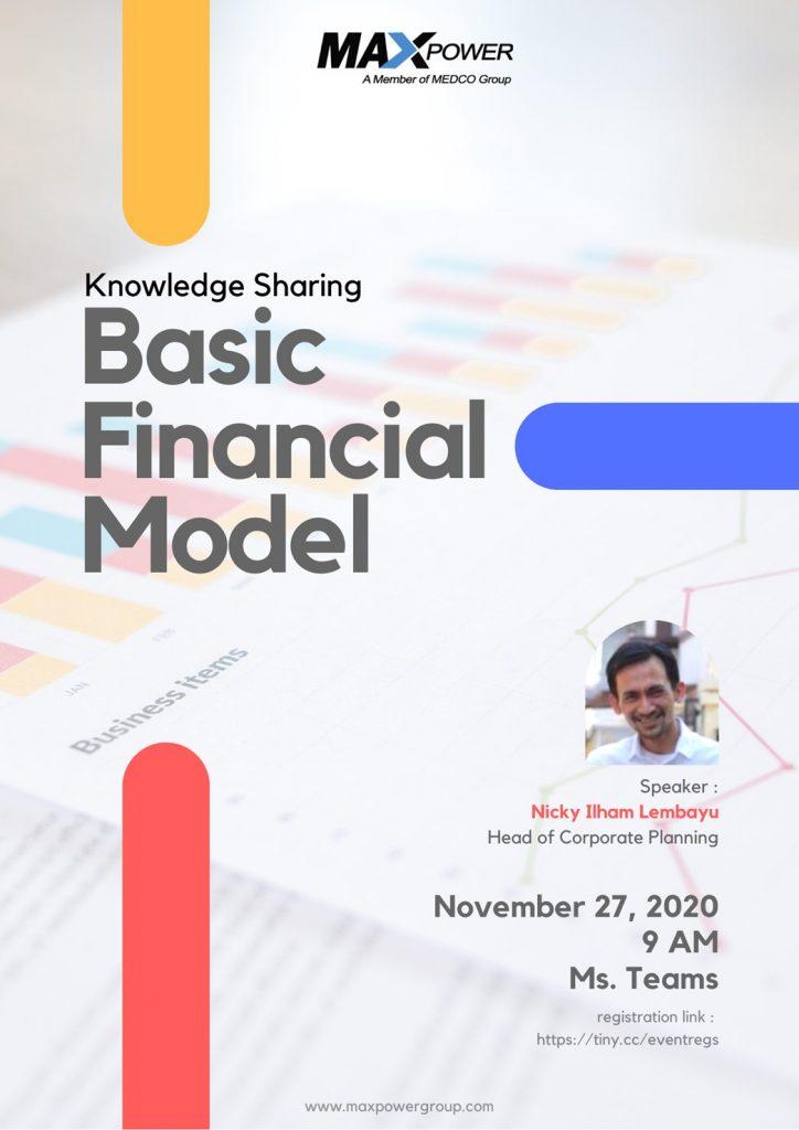 Knowledge Sharing : Basic Financial Model
