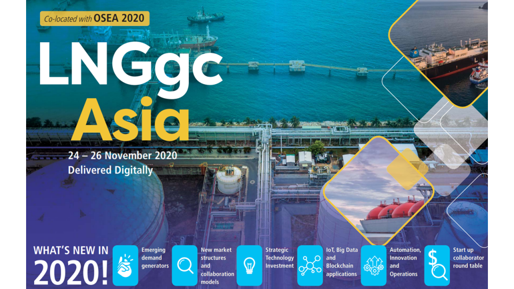 CEO Maxpower Group, Fazil Erwin Alfitri participated as a speaker at the LNGgc Asia Conference 2020