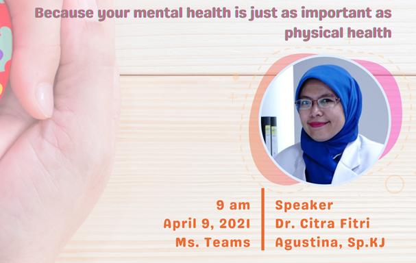 Health Talk #2 : Mental Health Awareness