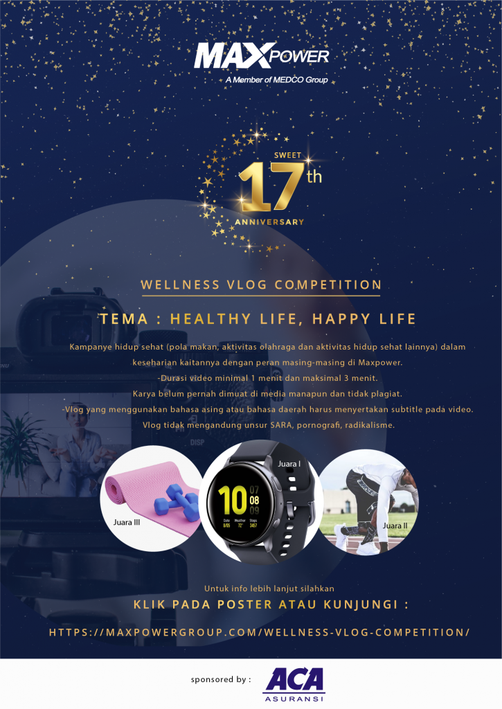WELLNESS VLOG COMPETITION