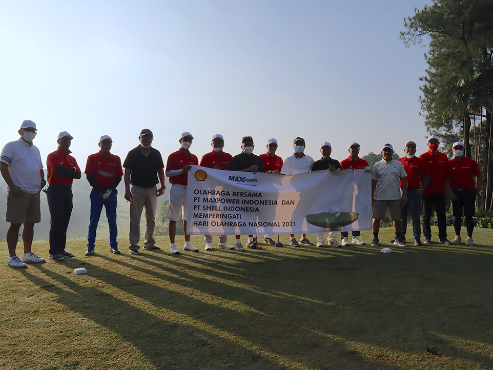 HAORNAS Golf Tournament Maxpower Group with Shell Indonesia
