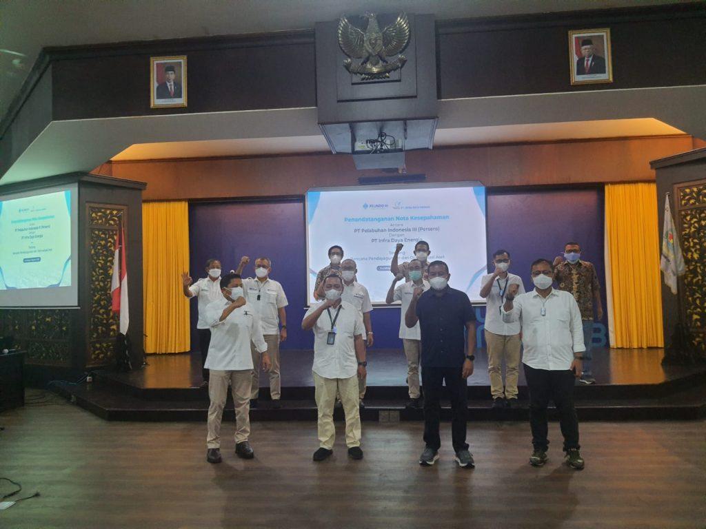 Memorandum of Understanding between PT Pelabuhan Indonesia III (Persero) (PELINDO III) with PT Infra Daya Energia and its affiliates (MEDCO GROUP)
