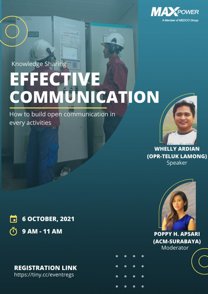 Knowledge Sharing : Effective Communication